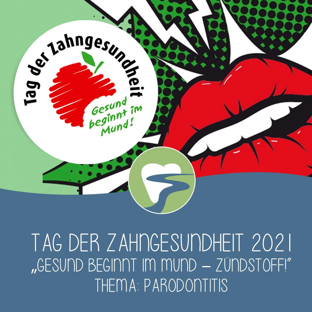 2021-09 Tag der Zahngesundheit - Zahnarztpraxis Parodontitis